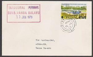 FIJI 1979 First flight cover Suva to Vanua Balavu..........................54493