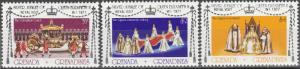 Grenada Grenadines #237-9 MNH