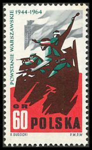 Poland 1256 Mint VF LH