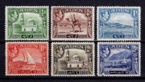 1939-48 Aden George VI Definitives Part Set