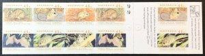 Australia 1246b MNH Booklet mammals 2 koalas SCV $10.00 Priced to Sell!