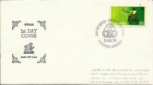 Canada 1976 Scott# 694 FDC