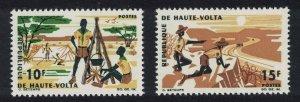 Upper Volta Scouting 2v 1966 MNH SG#197-198