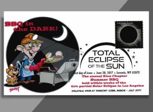 BBQ in the Dark!!  Ries Chapter Summer Picnic Salutes the Solar Eclipse!
