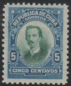 1910 Cuba Stamps Sc 242 Major General Ignacio Agramonte  NEW