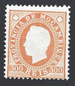 Mozambique 1886 D. Luis I Dent.12,5 MNG # 23