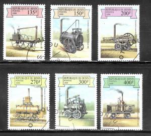 Benin 1999 SC# 1159-1164