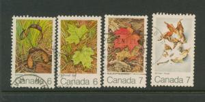 Canada SG 677 - 80   VFU set of 4