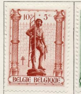 Belgium 1943 Early Issue Fine Mint Hinged 10c. 174126