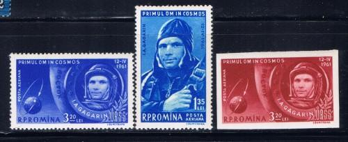 Romania C103-04a NH 1961 Space set
