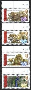 Niuafouou. 2016. 603-6. Fauna, elephant, gandhi. MNH.