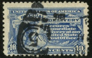 US Sc#E10 1916 10c Special Delivery No Watermark Perf. 10 Used