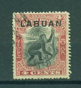 Labuan sc# 99A used cat value $.60