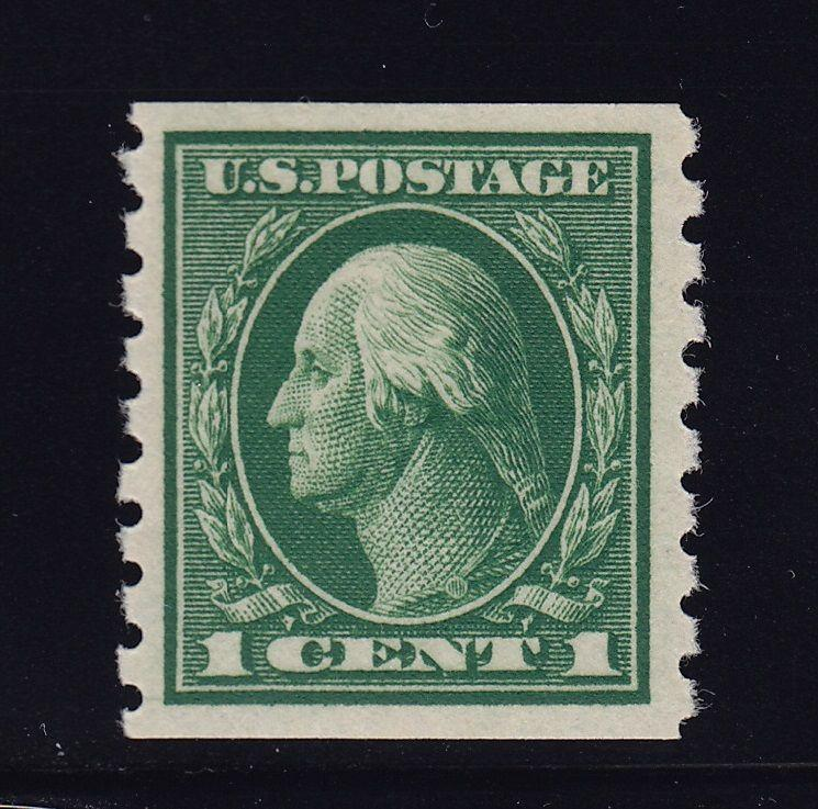 412 VF-XF original gum lightly hinged with nice color cv $ 25 ! see pic !