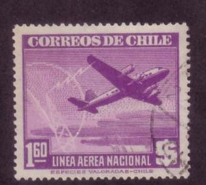 Chile Sc. # C108 Used Airplanes