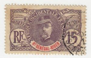 Upper Senegal & Niger - 1907 - SC 6 - Used
