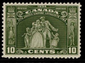 CANADA GV SG333, 10c olive-green, M MINT. Cat £16.