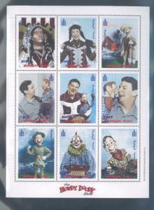 The HOWDY DOODY Show Mini Sheet of 9 - MONGOLIA #2349 MNH  E26