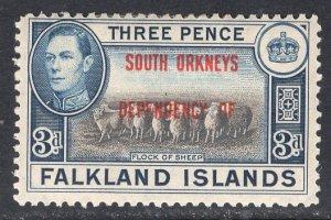 FALKLAND ISLANDS SCOTT 4L4