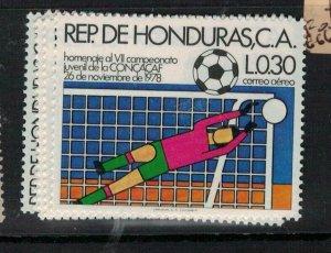 Honduras Football SC 663-7 MOG (5evb)