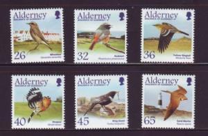 Alderney Sc 233-8 2004 Migrating Bird stamps mint NH