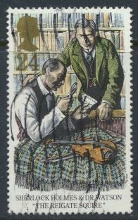 Great Britain SG 1784  Used  - Sherlock Holmes