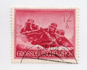 Germany 1943 Early Issue Fine Used 12pf. NW-100713