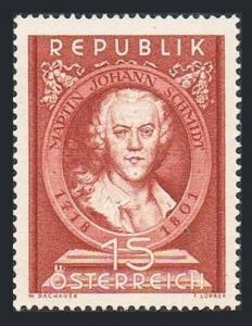 Austria 575,MNH.Michel 965. Martin Johann Schmidt,1718-1801,painter,1951.