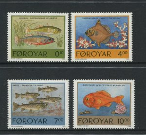 STAMP STATION PERTH Faroe Is.#260-263 Pictorial Definitive Iss.MNH 1994 CV$10.00