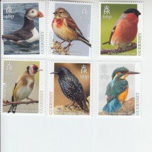 2019 Guernsey National Birds (6)   (Scott NA) MNH