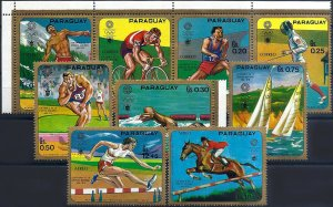 1971 Paraguay Olympic Games Munich, complete set VF/MNH!