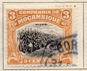 Mozambique Company 1924 Early Issue Fine Used 3c. 049653