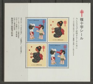 Japan Cinderella seal TB Charity revenue stamp 5-03-20 mint