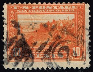 US #400A Discovery of San Francisco Bay; Used (1Stars)