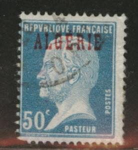 ALGERIA Scott 22 used stamp from 1924-1926