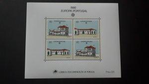 Europa CEPT - Portugal 1990. ** MNH Block
