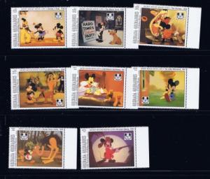 Grenada-Grenadines 1587-96 NH 1993 Mickey Mouse Anniv