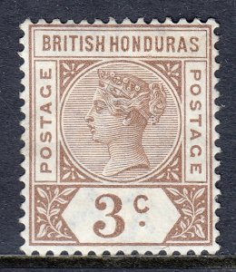 British Honduras - Scott #40 - Used - Crease LR corner - SCV $5.00