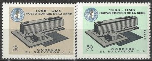 El Salvador  768, C231  MNH  UN WHO Building