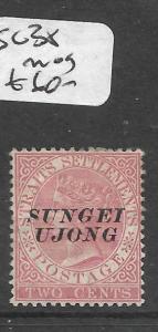 MALAYA SUNGEI UJONG (P0501B) QV 2C  SG 38  MOG