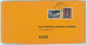 84118 - LIECHTENSTEIN  - Postal History -  Large COVER to ITALY  1961