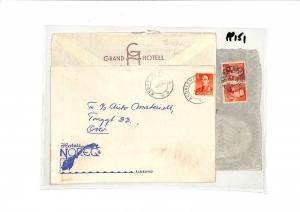 PP151 1958 Norway Oslo Cover x 3 Samwells-Covers