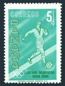 Panama 434 block/4,MNH.Michel 573. Olympics Rome-1960.Soccer.