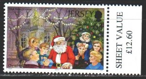 Jersey. 1997. 288 from the series. Happy New Year, Santa Claus. MNH.