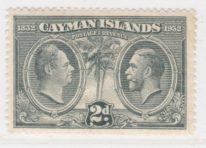 British Colony Cayman Islands 1932 2d MH* Stamp A22P19F8938
