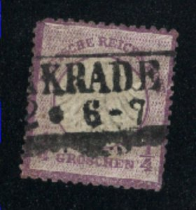 Germany #1   used VF 1872 PD