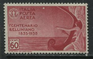 Italy 1935 Bellini Airmail 60 centeisimi unmounted mint NH