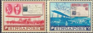 Singapore 2019 The 100th Anniversary of the First Airmail  (MNH)  - Stamps on st
