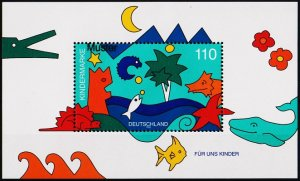 Germany. 1998 Miniature Sheet(Specimen) S.G.MS2843 Unmounted Mint