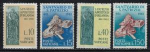 Vatican 313-16 NH 1961 set